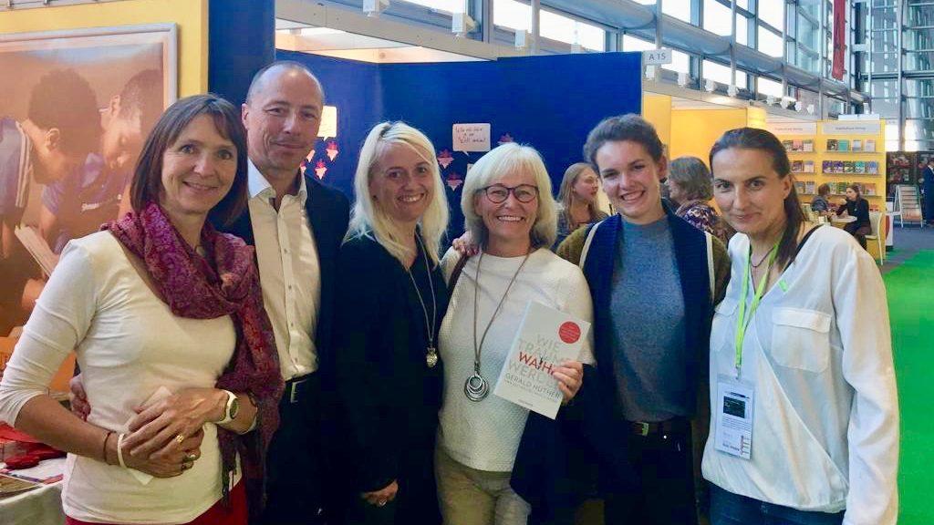 Interview mit Anita Maas von Maas-Magazin auf der Frankfurter Buchmesse 2018
