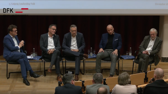 Leadership Talk mit Dr. Gerald Hüther an der HHL Leipzig